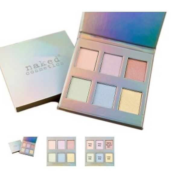 naked cosmetics Other - Naked Cosmetics Holographic Highlighter Palette